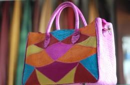 Beautiful Snake Skin Bag