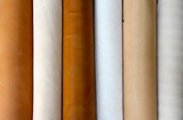 Vegetable Tanned Leather Colors Variety