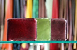 Our Customer Vegetable Tanned Leather Wallets