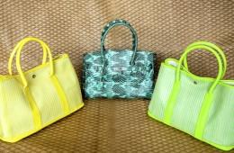 Snake Skin Bag (Middle)