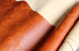 Italian Vegtan Pull Up and Natural VegtanLeather
